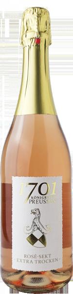 Sekt Rosé Extra Trocken Preussenausstattung