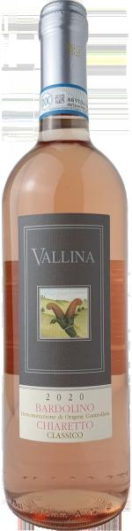 Vallina Bardolino Chiaretto DOC Classico Rosé