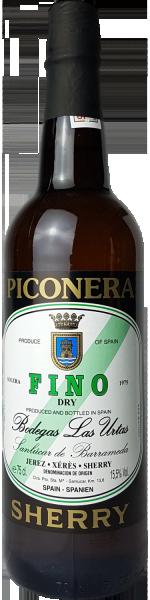Sherry Dry Fino Piconera Bodegas L.Utras