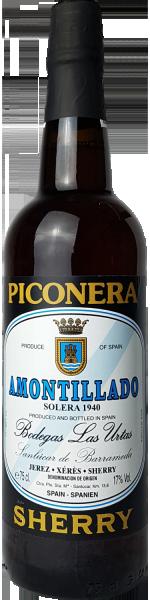 Sherry Amontillado Piconera Bodegas Las Utras