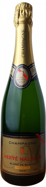 Champagne Hervé Malraud 1er Cru Blanc de Blancs