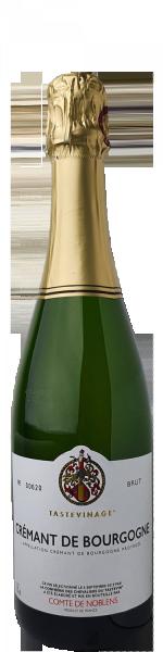 Comte de Noblens Crémant de Bourgogne AOP Brut Tasteviné AOP