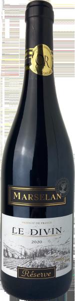 Marselan Le Divin Réserve IGP Pays d´Aude Vieilles Vignes