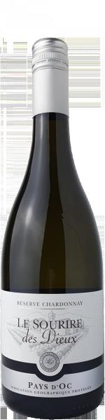 Le Sourire des Dieux Chardonnay Reserve Pays d´Oc IGP Vieilles Vignes