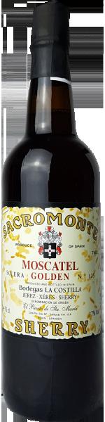 Sherry Moscatel Sacromonte D.O. Jerez