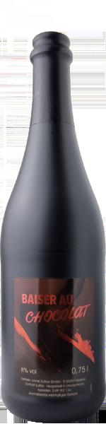 Baiser au Chocolat. Weinhaltiges aromatisiertes Getränk